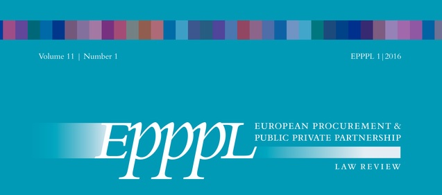 "The new article ""Unsolicited Proposals: New Realities in COVID Times"" in EPPPL"