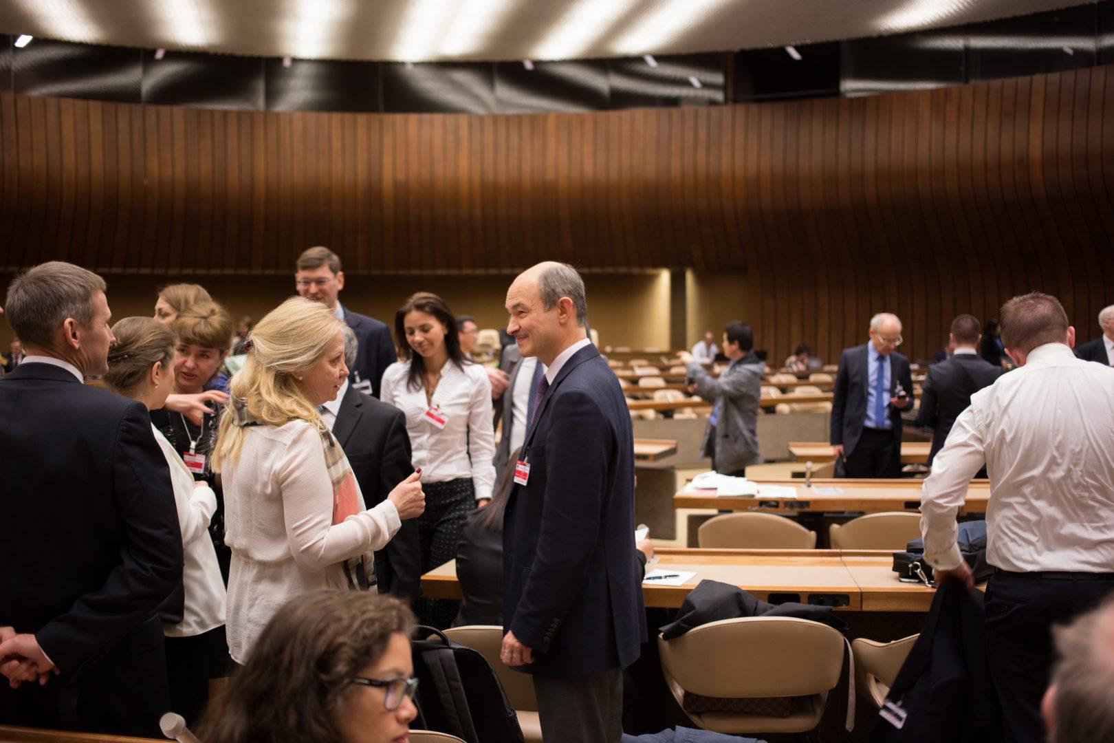 """7-9 травня 2018 року у м. Женева (Швейцарія) відбувся  Міжнародний форум з публічно-приватного партнерства: """"Збільшення масштабів: відповідь на виклики Стратегії сталого розвитку ООН до 2030 р. за допомогою ППП, спрямованих на людину"""""""