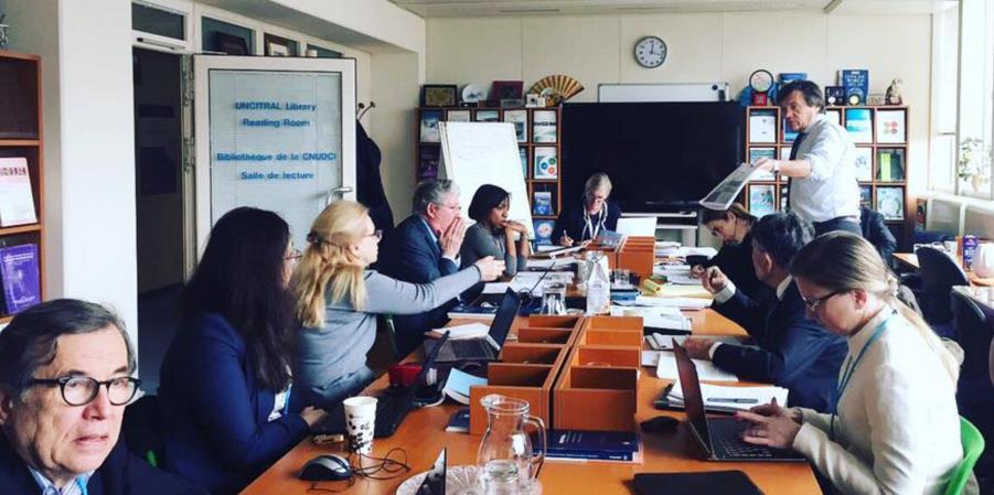 6-7 березня 2017 р. засновник Академії Ірина Запатріна взяла участь у засіданні експертної групи  щодо вдосконалення  Керівництва ЮНСІТРАЛ для законодавчих органів за проектами в сфері інфраструктури, що фінансуються з приватних джерел