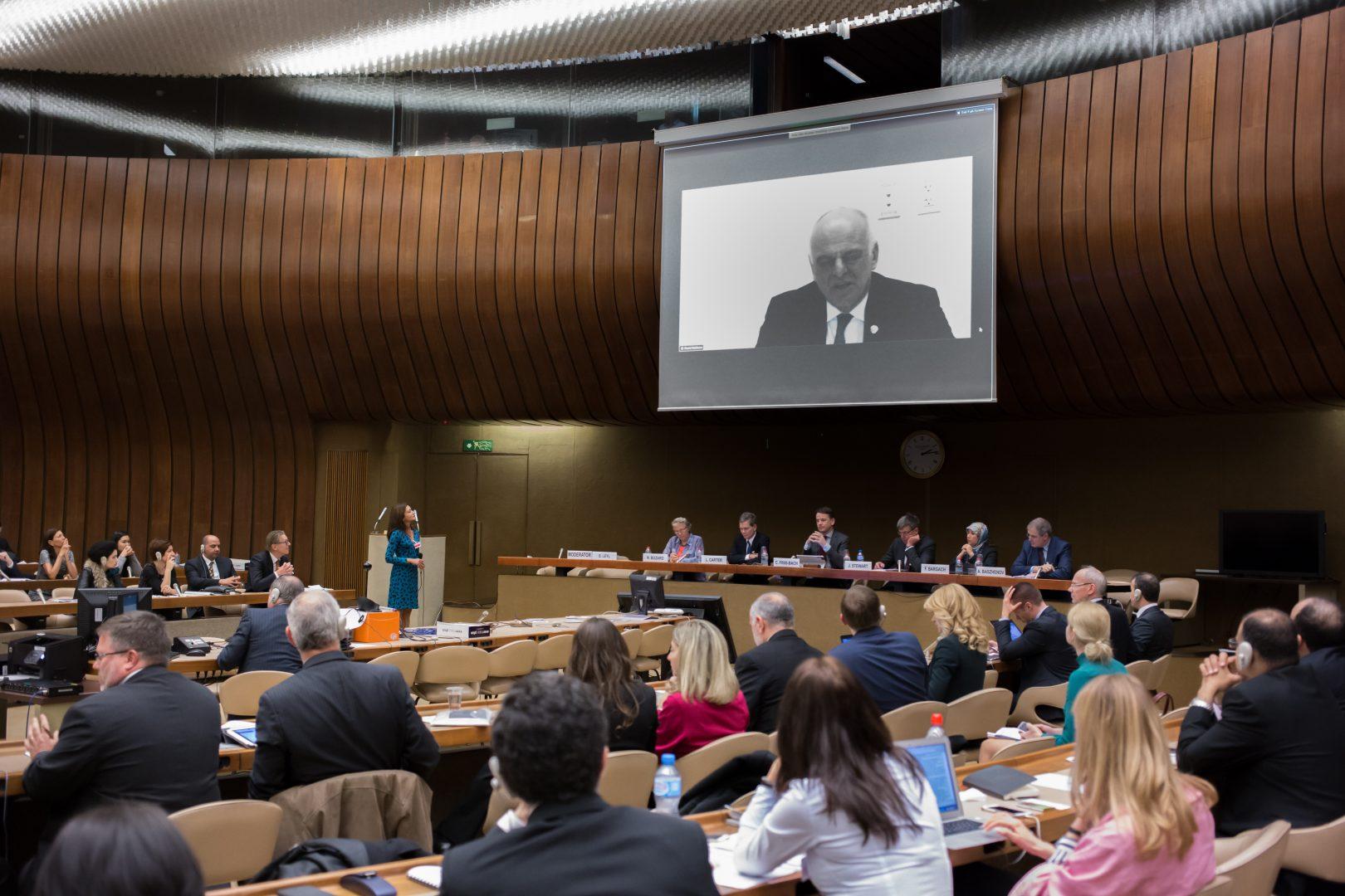 """7-9 травня 2019 року у м. Женева (Швейцарія) відбувся Міжнародний форум з публічно-приватного партнерства: """"Остання миля: просування ППП, спрямованих на людину  для виконання Стратегії сталого розвитку ООН до 2030 р."""""""