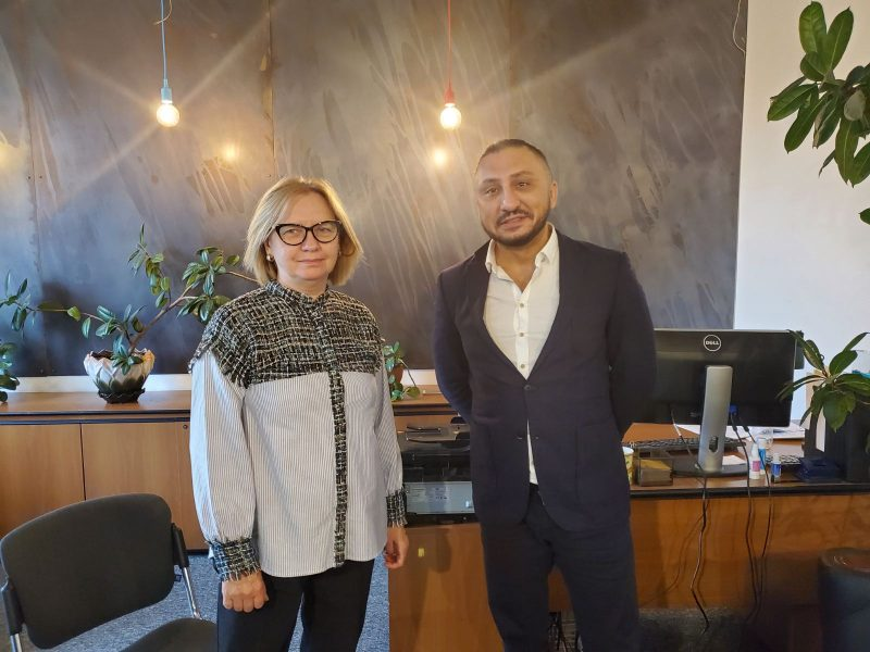 Establishing cooperation with Netcad (Turkey)